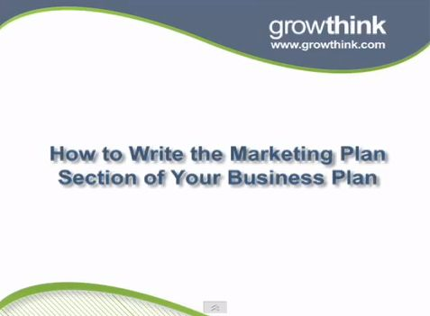 How to write a good marketing plan