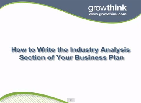 Industry analysis business plan