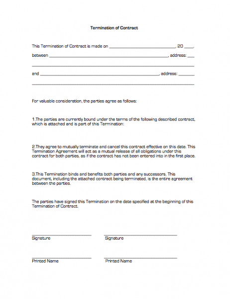 business contract business contracttemplate business contractsample